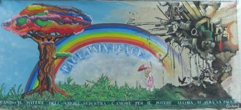 dipinto arcobaleno