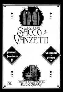 """Copertina di """"Le vite di Sacco e Vanzetti"""""""