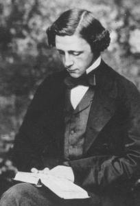 Un giovane Charles Dodgson