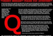 QAnon, #Memo e il male radicale del potere globalista