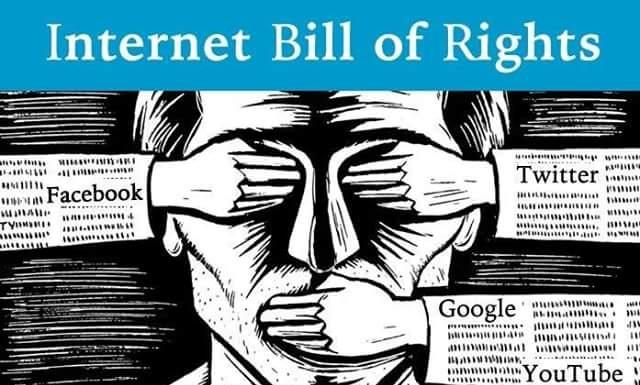 2. Sui post di Q: «FIGHT the censorship.» (COMBATTI la censura.)
