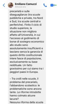approfondimento intervista Camuzzi